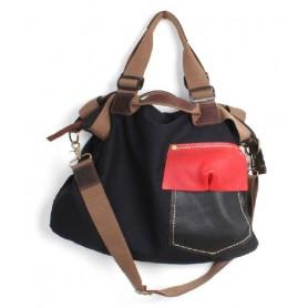 Messenger bag for college student, shoulder messenger bag
