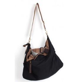 black Messenger bag for college student
