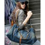 Messenger bag for school, handbag denim