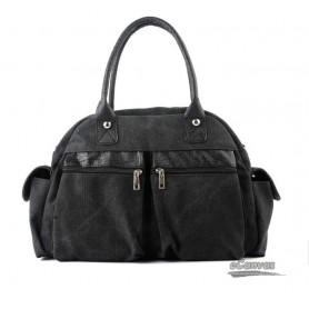 Retro canvas bags cheap, discount black canvas bags