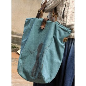 green Tote travel bag