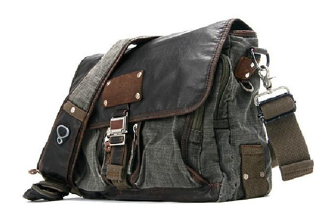 Messenger Bag For Men Canvas
