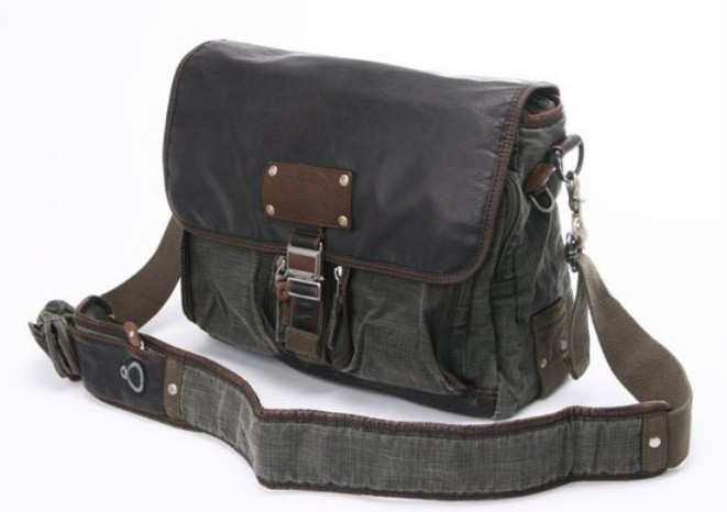 Messenger bag for men canvas, messenger book bag - E-CanvasBags