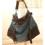 blue Travel shoulder bag