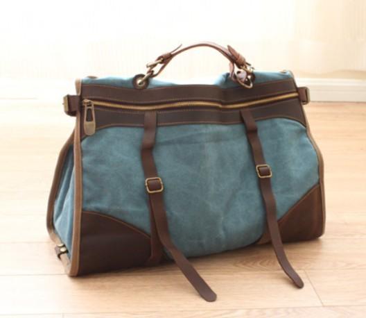 Luxury Men39sWomen39s Cortez Tan Leather HoldallTravel Bag Width