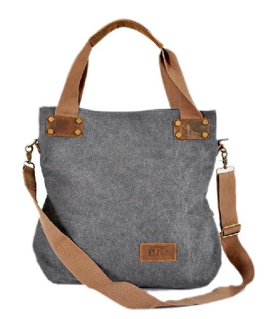 Messenger bag girls, vertical shoulder bag - E-CanvasBags