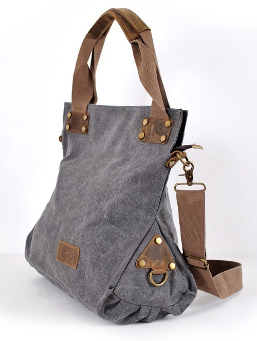 Messenger bag girls, vertical shoulder bag - E-CanvasBags