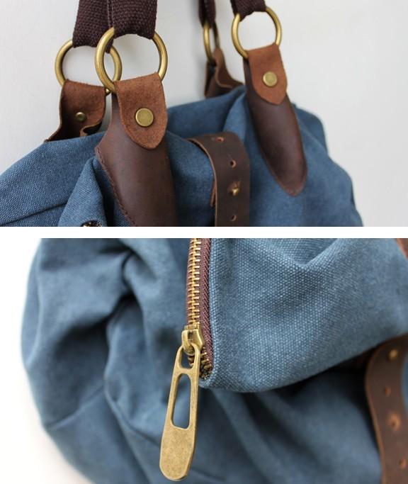 Hobo bag, ladies shoulder bag - E-CanvasBags