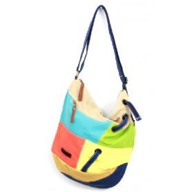 Canvas satchel messenger bag, canvas shoulder bag women