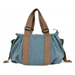 Personalized canvas tote, men canvas shoulder messenger bag