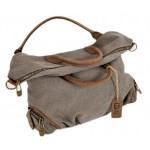 Canvas handbag, canvas shoulder messenger bag