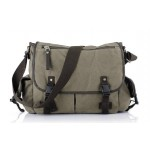 Canvas messenger bag for men, cheap mens messenger bag