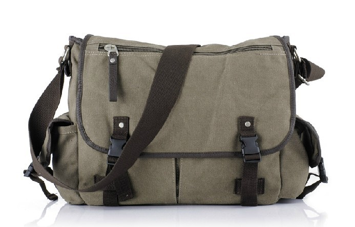 Canvas messenger bag for men, cheap mens messenger bag - E-CanvasBags