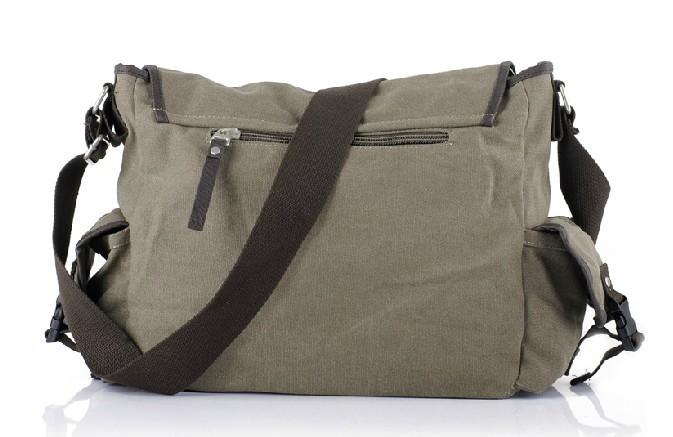 Canvas Messenger Bag For Men Mens