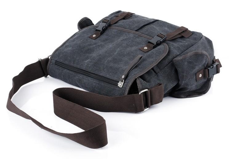 Canvas messenger bag for men, cheap mens messenger bag - E-CanvasBags