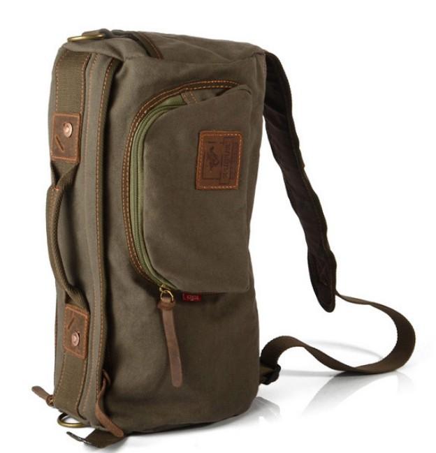 Strap Bag Cross Body Backpack One Bookbag