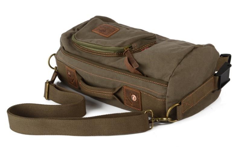 Mens Strap Bag Cross Body Backpack One