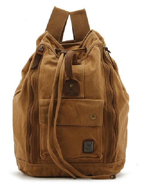 Cotton Canvas Backpack Day Pack E Canvasbags