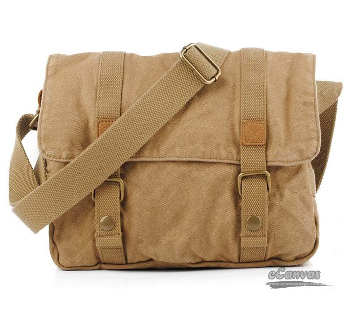 5de7692d69 yellow canvas messenger bag ...