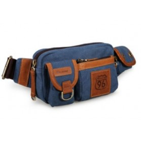 navy fanny pack for men