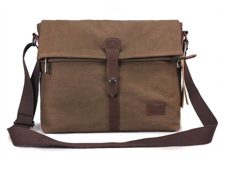 Canvas Professional Messenger Bag Coffee