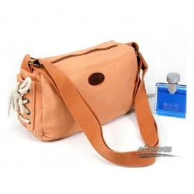 Canvas purse, small cross-body bag, 4 colors