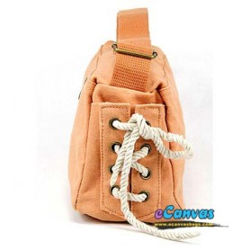 orange cross-body bag