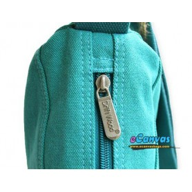 blue cross-body bag