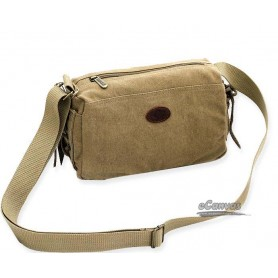 khaki Canvas purse