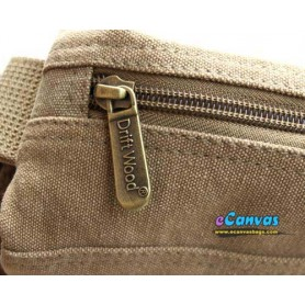 khaki cross-body bag