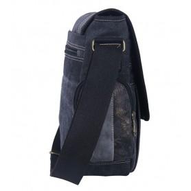 black School messenger bag
