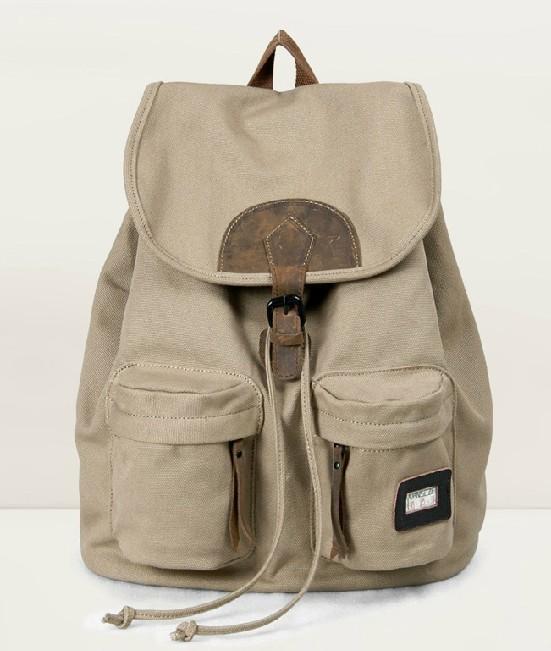 canvas rucksack vintage canvas rucksack backpack e. Black Bedroom Furniture Sets. Home Design Ideas