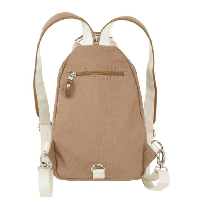 Canvas backpacks for college, small sling backpack - E-CanvasBags