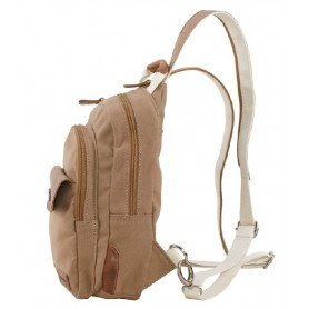 khaki Canvas backpacks for college