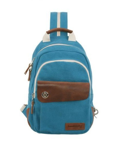 Canvas backpacks for college, small sling backpack