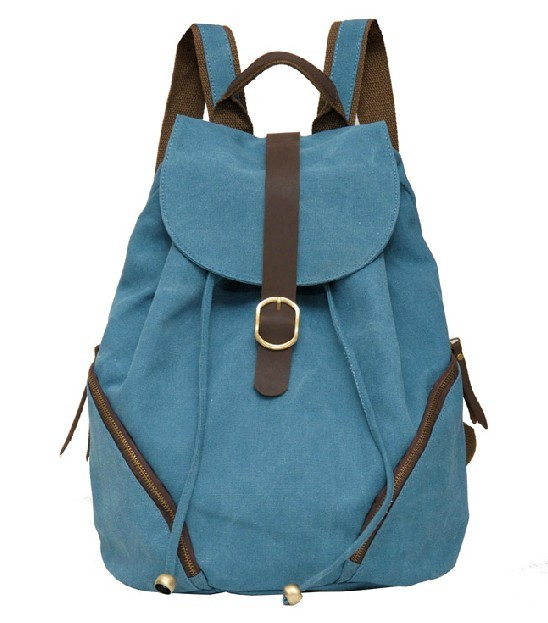... purses women  blue canvas backpack for school ... b1a1fc21319ca