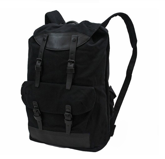 Canvas rucksack school backpack, canvas backpack men