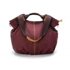 Purple stylish handbags