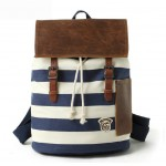 Personalized drawstring backpack, canvas backpack rucksack