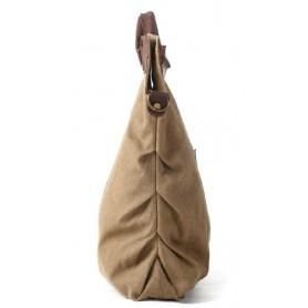 khaki Canvas handbags tote