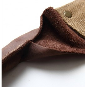khaki classic messenger bags
