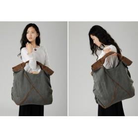 grey classic messenger bags