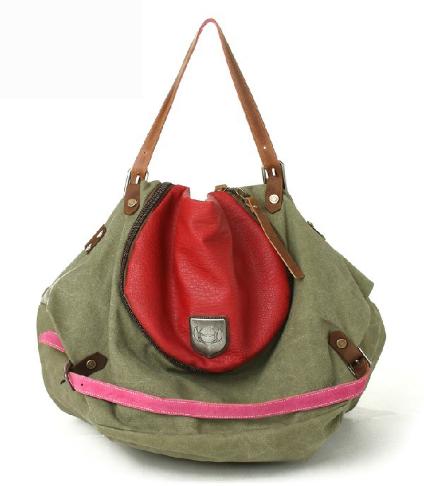 Canvas tote bag large, cool messenger bags for girls