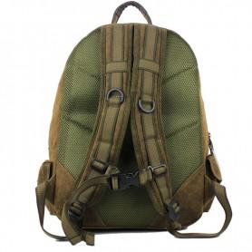 khaki backpack organizer bag