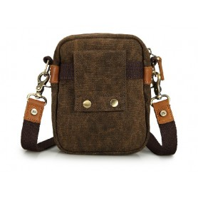 brown Shoulder bags for school