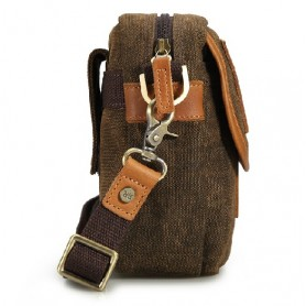 brown waist bags for men
