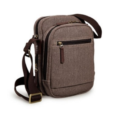 Canvas messenger bag for men, IPAD mens canvas shoulder bag - E ...
