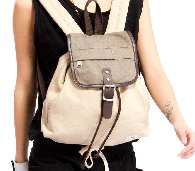 Women's everyday backpack purse, unique backpack - E-CanvasBags