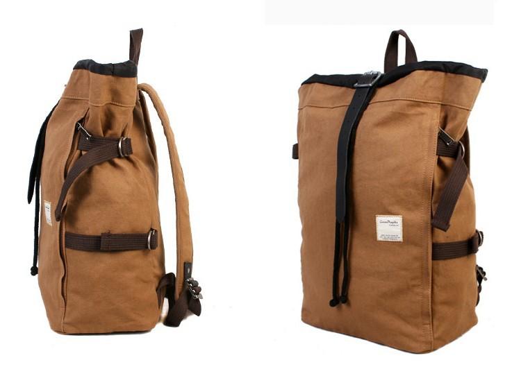 cotton canvas backpack vintage canvas rucksack e canvasbags. Black Bedroom Furniture Sets. Home Design Ideas