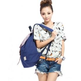 Back pack bags blue